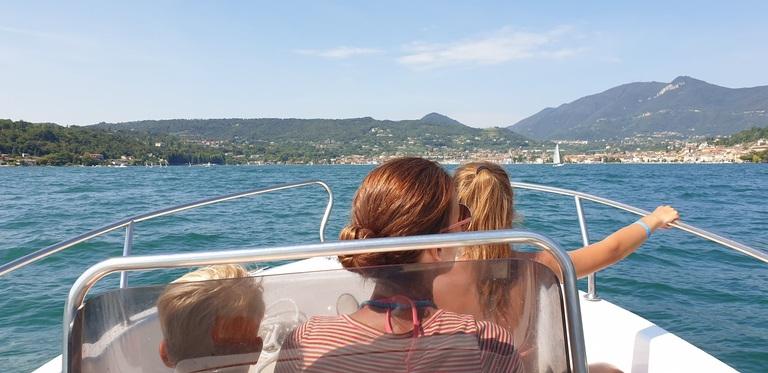 Bootje huren op het Gardameer